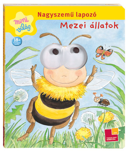 Könyv - Nagyszemű lapozó/Mezei állatok