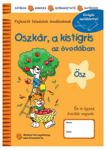 Könyv - Oszkár a kistigris az  óvodában  - Ősz