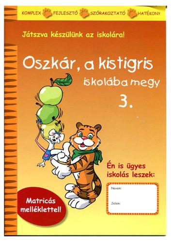 Könyv - Oszkár a kistigris iskolába megy - 3