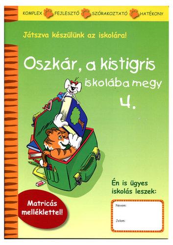 Könyv - Oszkár a kistigris iskolába megy - 4