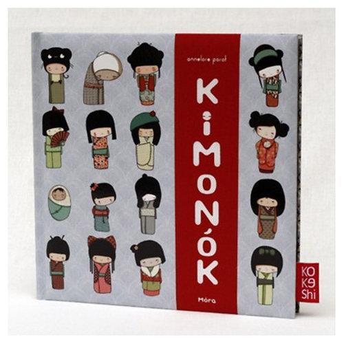 Könyv - Parot, Annelore: Kimonók KOKESHI