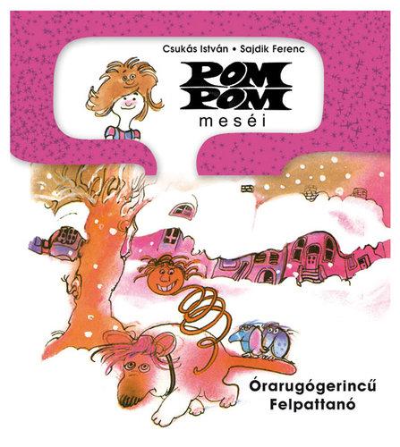 Könyv - Pom Pom: Órarugógerincű felpattanó
