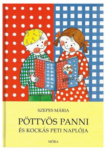 Könyv - Pöttyös Panni és Kockás Peti naplója