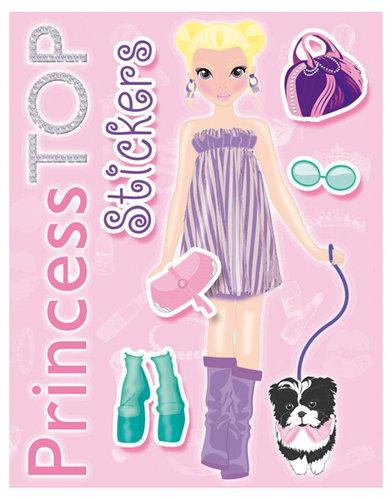 Könyv - Princess TOP Stickers 2.