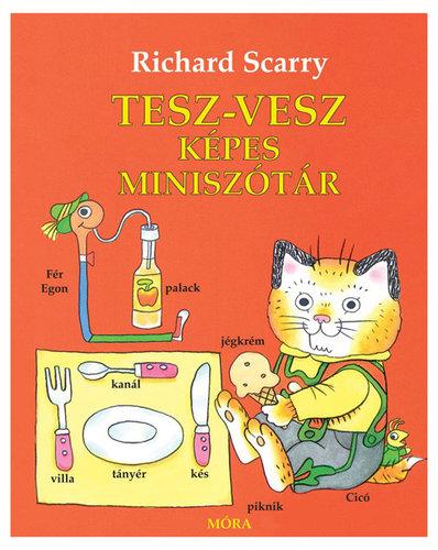 Könyv - Scarry, Richard: Tesz-Vesz képes miniszótár