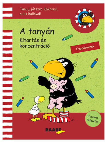 Könyv - Tanulj játszva Zoknival - A tanyán