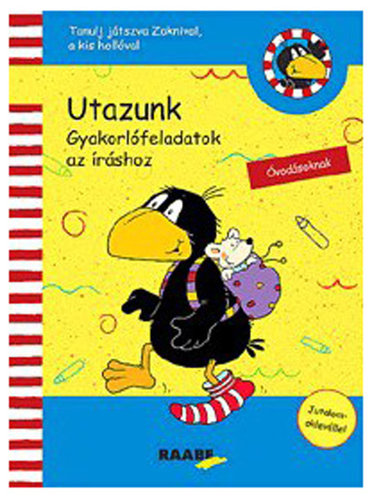 Könyv - Tanulj játszva Zoknival - Utazunk