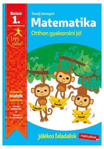 Könyv - Tanulj könnyen - Matematika 1.