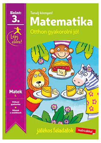 Könyv - Tanulj könnyen - Matematika 3.