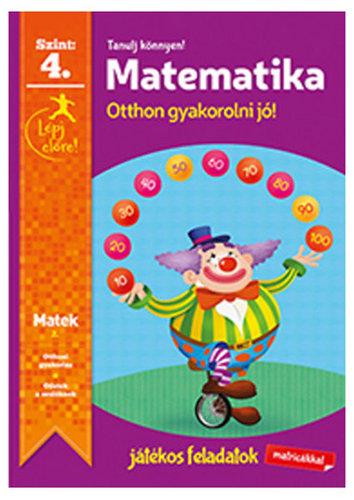 Könyv - Tanulj könnyen - Matematika 4.