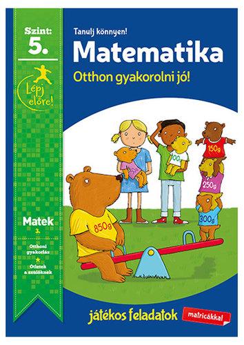 Könyv - Tanulj könnyen - Matematika 5.