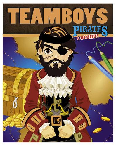 Könyv - TeamBoys Colour - Pirates