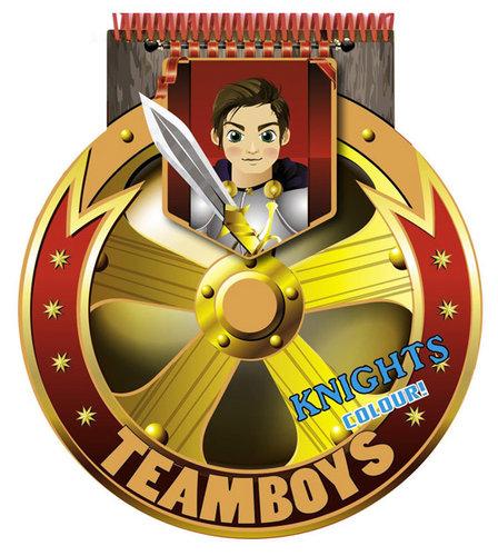 Könyv - TeamBoys Stencil - Knights