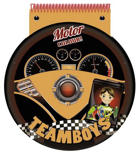 Könyv - TeamBoys Stencil - Motor
