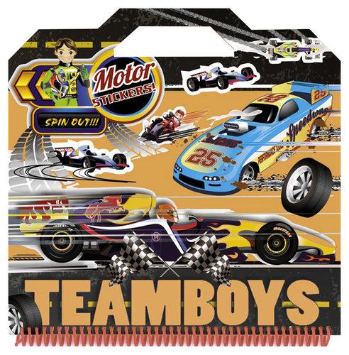 Könyv - TeamBoys Sticker - Motor