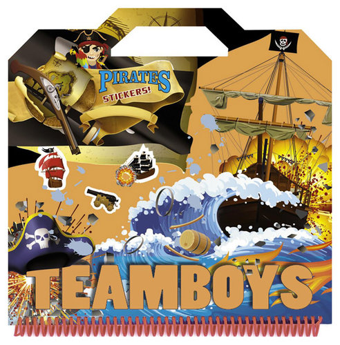 Könyv - TeamBoys Sticker - Pirates