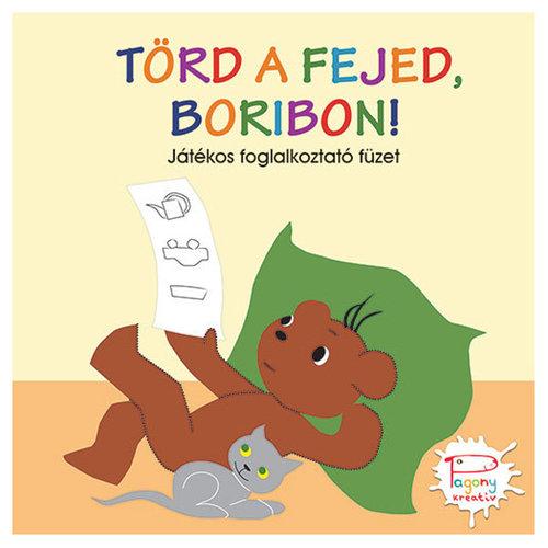 Könyv - Törd a fejed, Boribon Foglalkoztató füzet