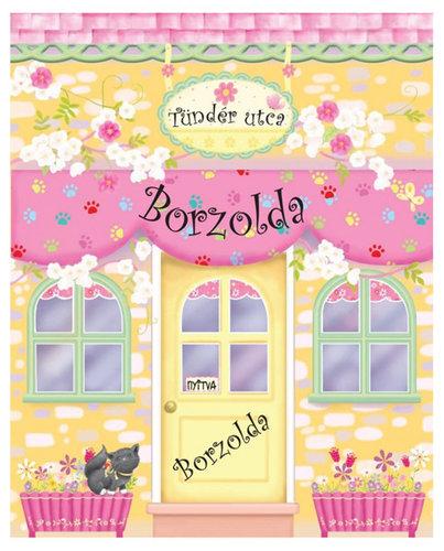 Könyv - Tündér utcai Borzolda - Babaházkönyv