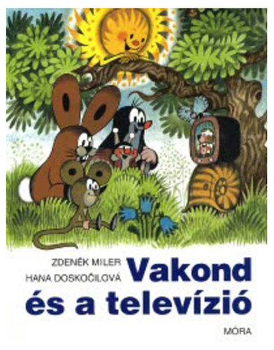 Könyv - Vakond és a televízió