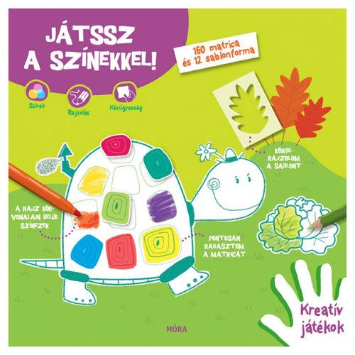 Matricás- és foglalkoztató füzet #Játssz a színekkel!