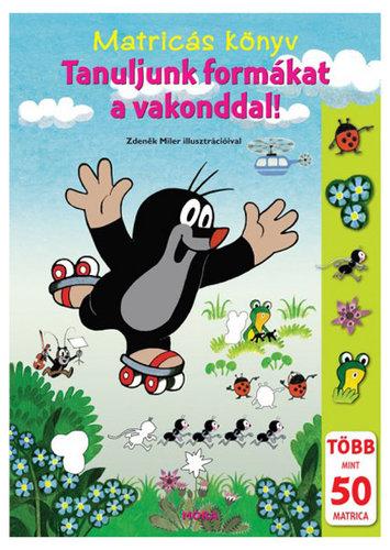 Könyv - Móra Matricáskönyv #Tanuljunk formákat a vakonddal!