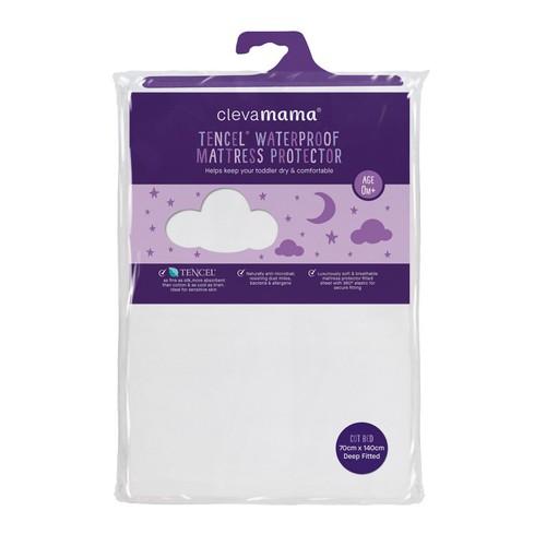 Clevamama tencel matracvédő gumis lepedő 40x90