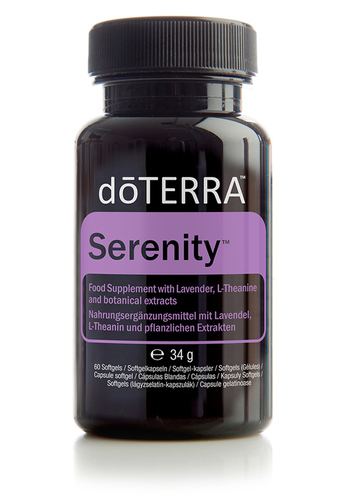 doTERRA Serenity Restful Complex Softgels - Pihentető lágy zselatin kapszula #34390001