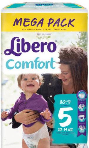 Libero Comfort 5 pelenka #10-14Kg #80db