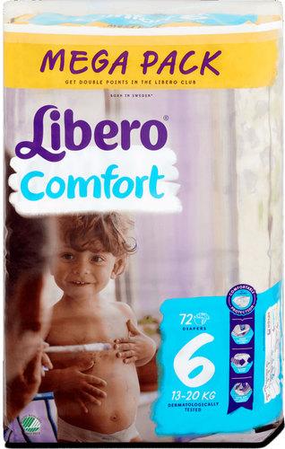 Libero Comfort 6 pelenka #13-20Kg #72db