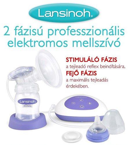 Lansinoh Mellszívó 2 fázisú professzionális elektromos #54080