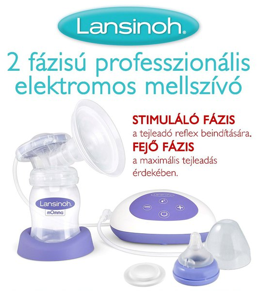 Lansinoh Mellszívó 2 fázisú professzionális elektromos  54080 ... 547cf5bccc