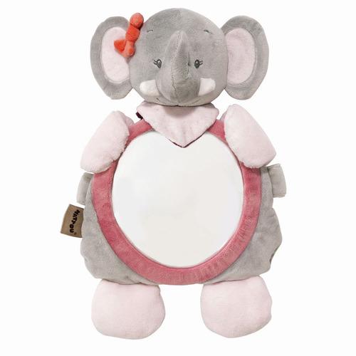 Nattou Babafigyelő tükör plüss #Adele and Valentine - Adele az elefánt