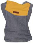 ByKay csatos kenguru ClickCarrier Kifordítható #sötétkék - ősz-sárga #babaméret