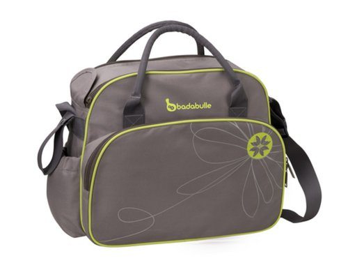 Badabulle Pelenkázótáska szürke-zöld #B043012